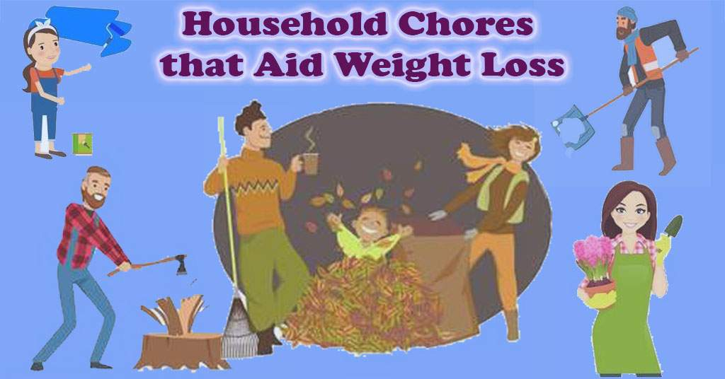 Household Chores that Aid Weight Loss